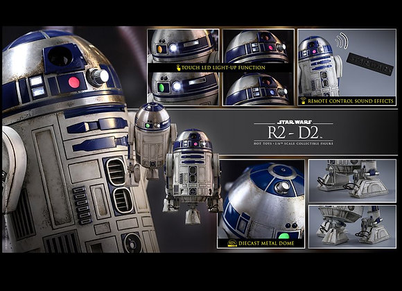 Hot Toys MMS408 STAR WARS THE FORCE AWAKENS 1/6 R2-D2
