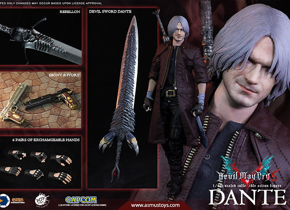 ASMUS TOYS THE DEVIL MAY CRY 1/6 DANTE (DMC V) Exclusive