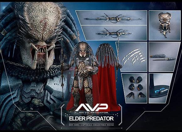 Hot Toys MMS325 ALIEN VS. PREDATOR 1/6 ELDER PREDATOR