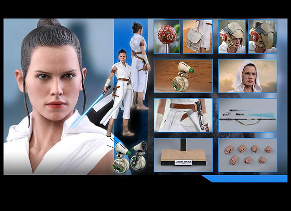 Hot Toys MMS559 STAR WARS: THE RISE OF SKYWALKER 1/6 REY AND D-O