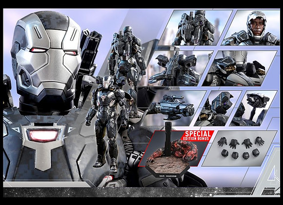 Hot Toys MMS499D26 AVENGERS INFINITY WAR 1/6 WAR MACHINE MARK IV SPECIAL EDITION