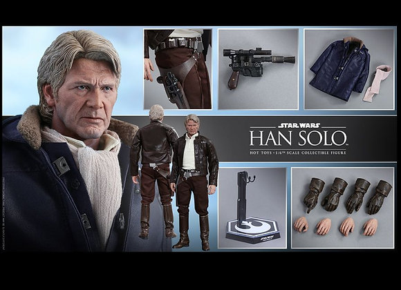 Hot Toys MMS374 STAR WARS THE FORCE AWAKENS 1/6 HAN SOLO