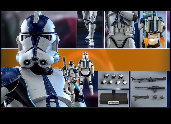 Hot Toys TMS022 STAR WARS THE CLONE WARS 1/6 501ST BATTALION CLONE TROOPER