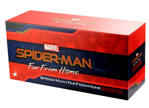 Hot Toys PLIG004N Spider-man Far From Home Light Box