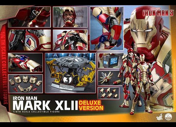 Hot Toys QS008 IRON MAN 3 1/4 MARK XLII (DELUXE VERSION)