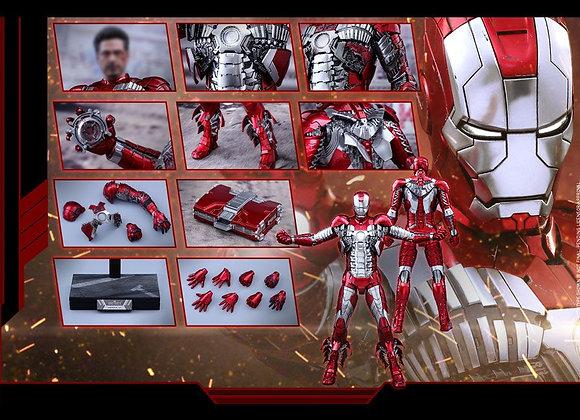 Hot Toys MMS400D18 IRON MAN 2 1/6 MARK V