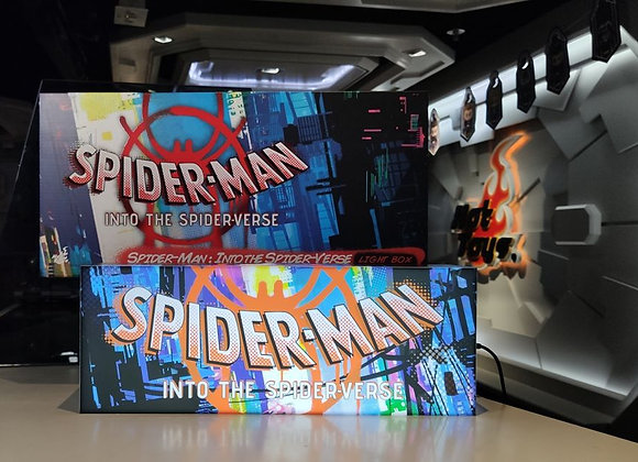 Hot Toys PLIG003N Spider-man Into the Spider-Verse Light Box