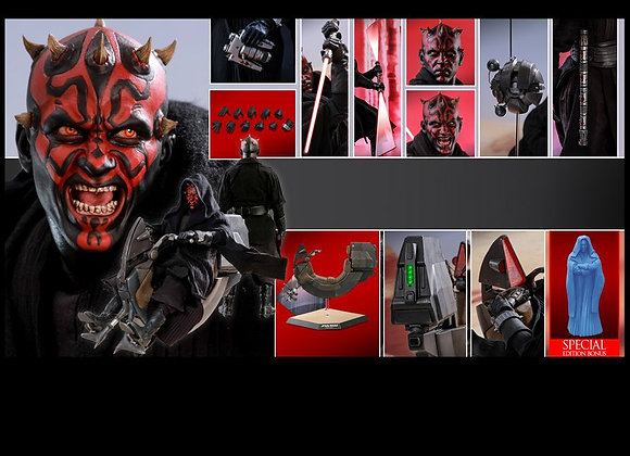 Hot Toys DX17 STAR WARS 1/6 DARTH MAUL WITH SITH SPEEDER SPECIAL EDITION
