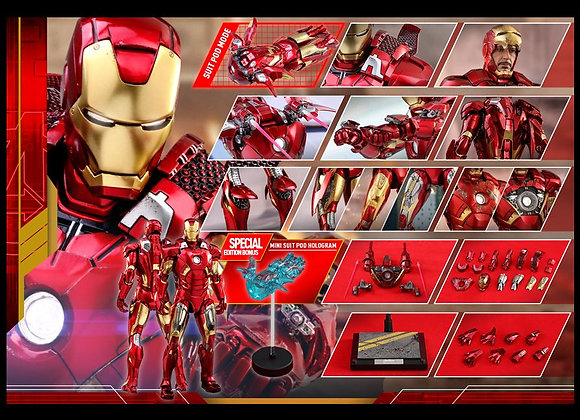 Hot Toys MMS500D27 THE AVENGERS 1/6 IRON MAN MARK VII SPECIAL EDITION