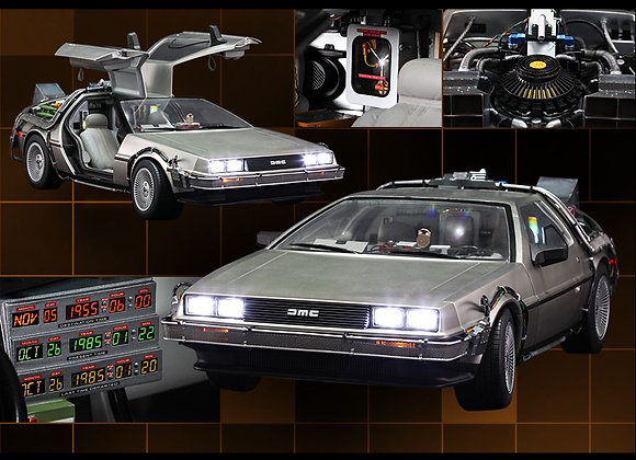 Hot Toys MMS260 BACK TO THE FUTURE 1/6 DELOREAN TIME MACHINE