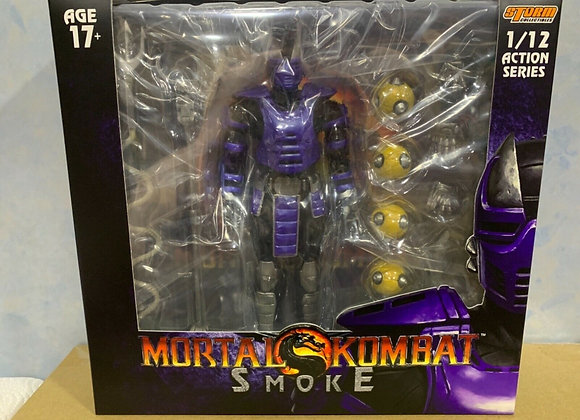 Ready! STORM COLLECTIBLES MORTAL KOMBAT SMOKE NYCC Purple