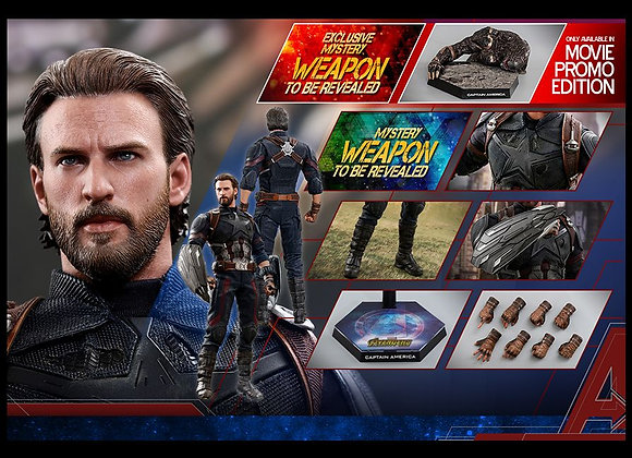 Hot Toys MMS481 AVENGERS: INFINITY WAR 1/6 CAPTAIN AMERICA (MOVIE PROMO EDITION)
