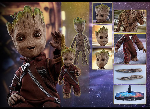 Hot Toys LMS004 GUARDIANS OF THE GALAXY VOL. 2 LIFE-SIZE GROOT