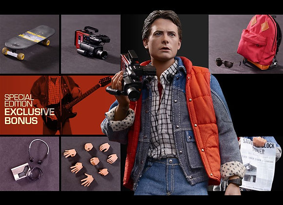 Hot Toys MMS257 BACK TO THE FUTURE 1/6 MARTY MCFLY SPECIAL EDITION