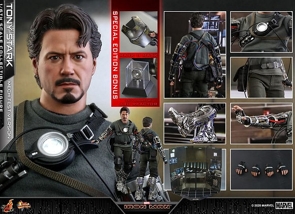 Hot Toys MMS581 IRON MAN 1/6 TONY STARK (MECH TEST VERSION) SPECIAL