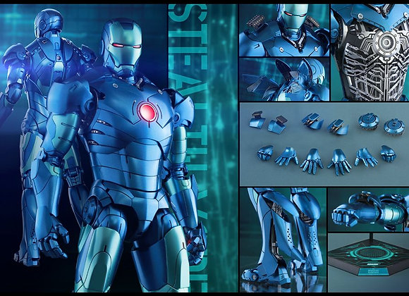 Hot Toys MMS314D12 IRON MAN 1/6 MARK III (STEALTH MODE VERSION)