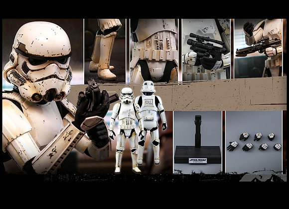 In Stock! Hot Toys TMS011 THE MANDALORIAN 1/6 REMNANT STORMTROOPER