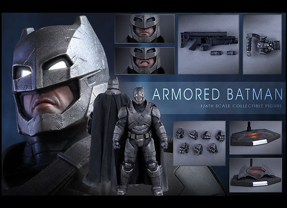 Hot Toys MMS349 BATMAN V SUPERMAN 1/6 ARMORED BATMAN