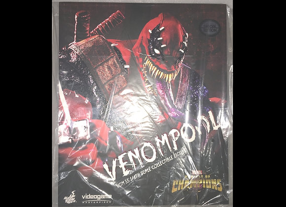 In Stock! Hot Toys VGM35 MARVEL CONTEST OF CHAMPIONS 1/6 VENOMPOOL Special