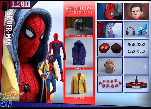 Hot Toys MMS426 SPIDER-MAN HOMECOMING 1/6 SPIDER-MAN (DELUXE VERSION)