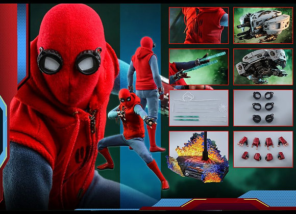 In Stock! Hot Toys MMS552 FAR FROM HOME 1/6 SPIDER-MAN (HOMEMADE SUIT VER)