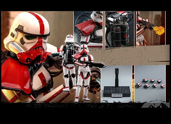 Ready! Hot Toys TMS012 THE MANDALORIAN 1/6 INCINERATOR STORMTROOPER