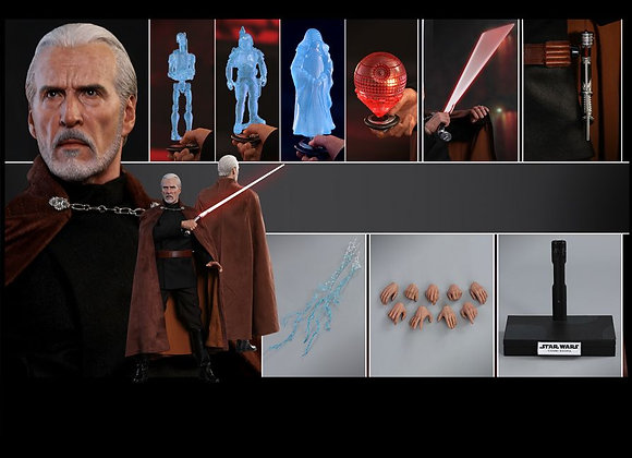 Hot Toys MMS496 STAR WARS ATTACK OF THE CLONES 1/6 COUNT DOOKU