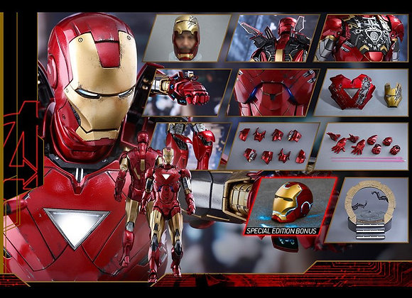 Hot Toys MMS378D17 IRON MAN 2 1/6 MARK Vi SPECIAL EDITION