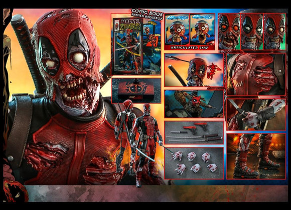Hot Toys CMS06 MARVEL ZOMBIES 1/6 ZOMBIE DEADPOOL