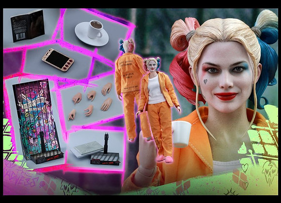 Hot Toys MMS407 SUICIDE SQUAD 1/6 HARLEY QUINN (PRISONER VERSION)