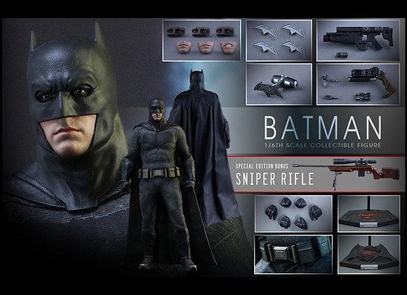Hot Toys MMS342 BATMAN V SUPERMAN 1/6 BATMAN WITH TECH COWL & SNIPER