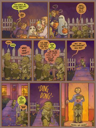 Original Comic: Halloweeny (2019)