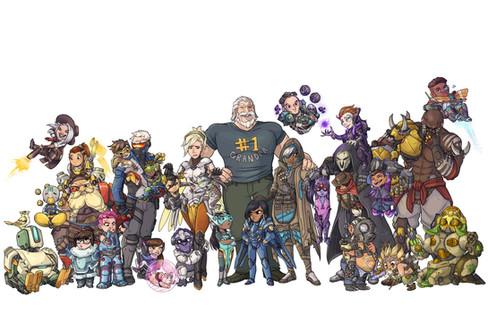 Overwatch Blizzard Entertainment Fanart