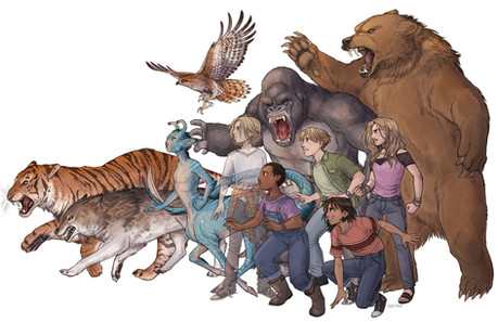 Animorphs - YA Series by K A Applegate and Michael Grant Fanart