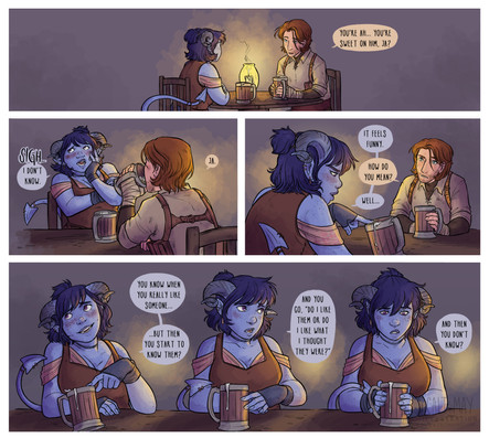 Fan Comic Critical Role