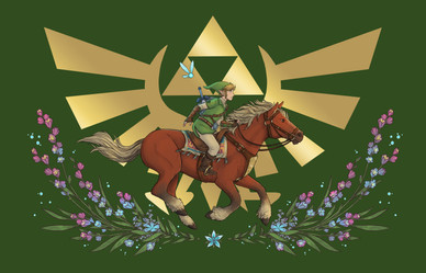 Hero of the Ages - The Legend of Zelda Anthology Cover Image (2019)