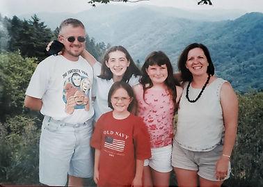 Summer in NC at Xmas tree cabin.jpg