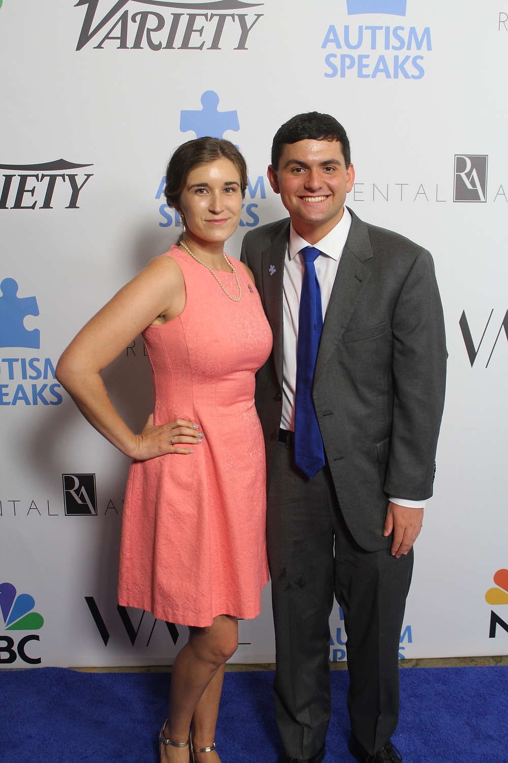 Autism Speaks Into The Blue Gala