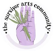 the survivor arts community logo