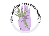 the survivor arts community logo