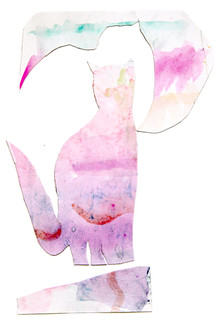 Three Cat Paint Effects 3