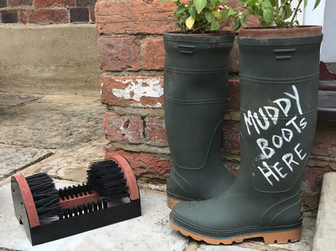 Clean your boots!