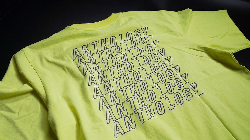 Anthology - Anthology Box Tee - [ Fluorescent Yellow ]