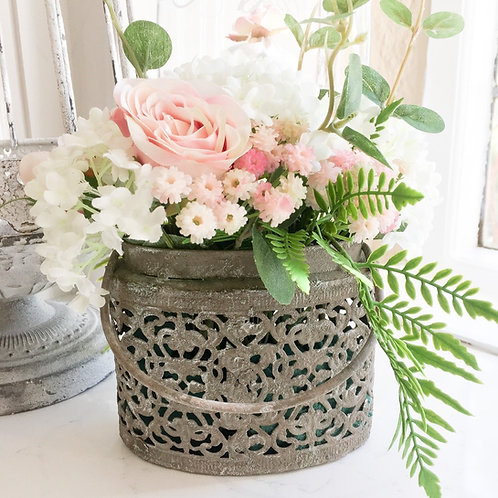 Grey Antique Planter