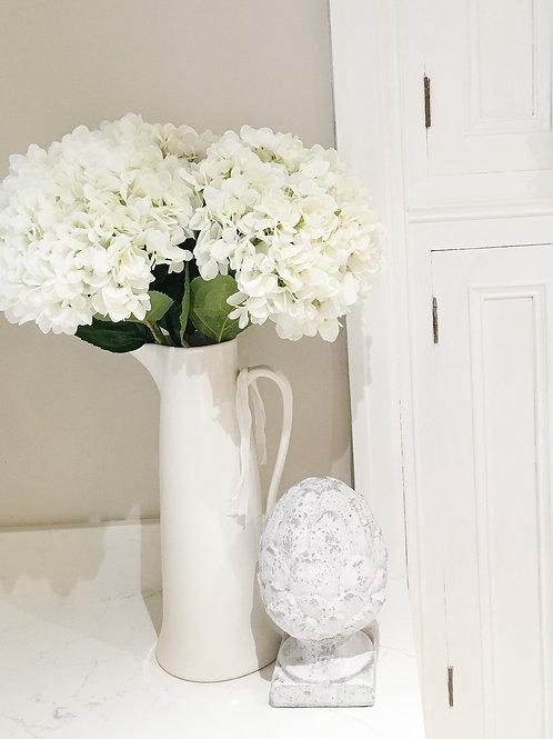 Large White Hydrangea Stem