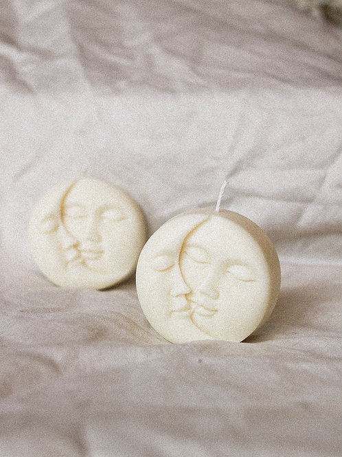 Celestial Moon Candle