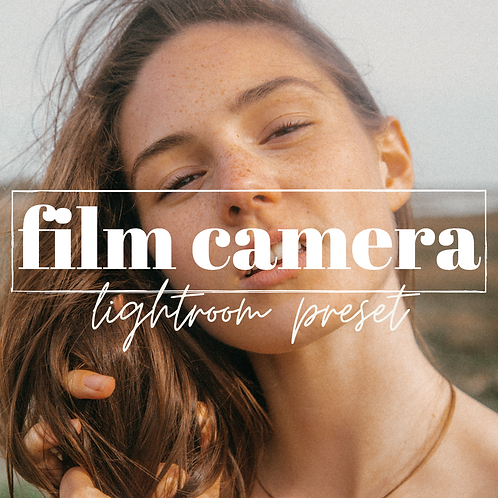 Analog Film Camera Lightroom Mobile Preset x3