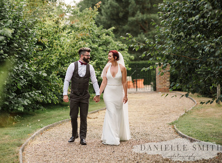 Stacey + Tom, Swarling Manor