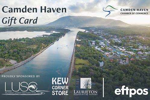 Camden Haven Gift Card