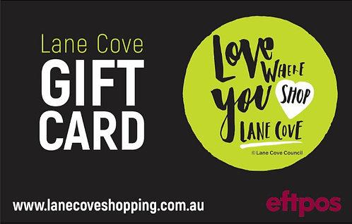 Lane Cove Gift Card